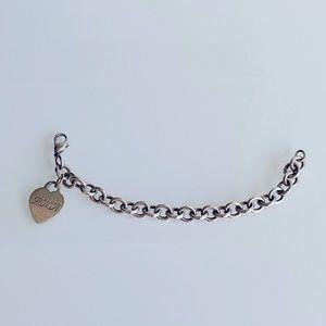 Tiffany Heart Tag Charm Bracelet